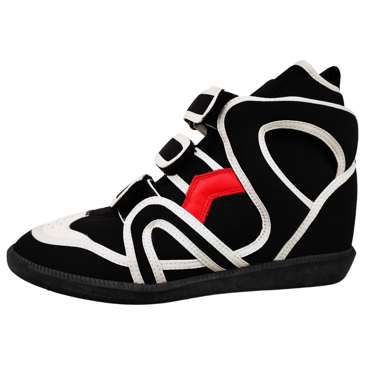 Isabel Marant - Baskets Buckee pour femme en cuir - noir