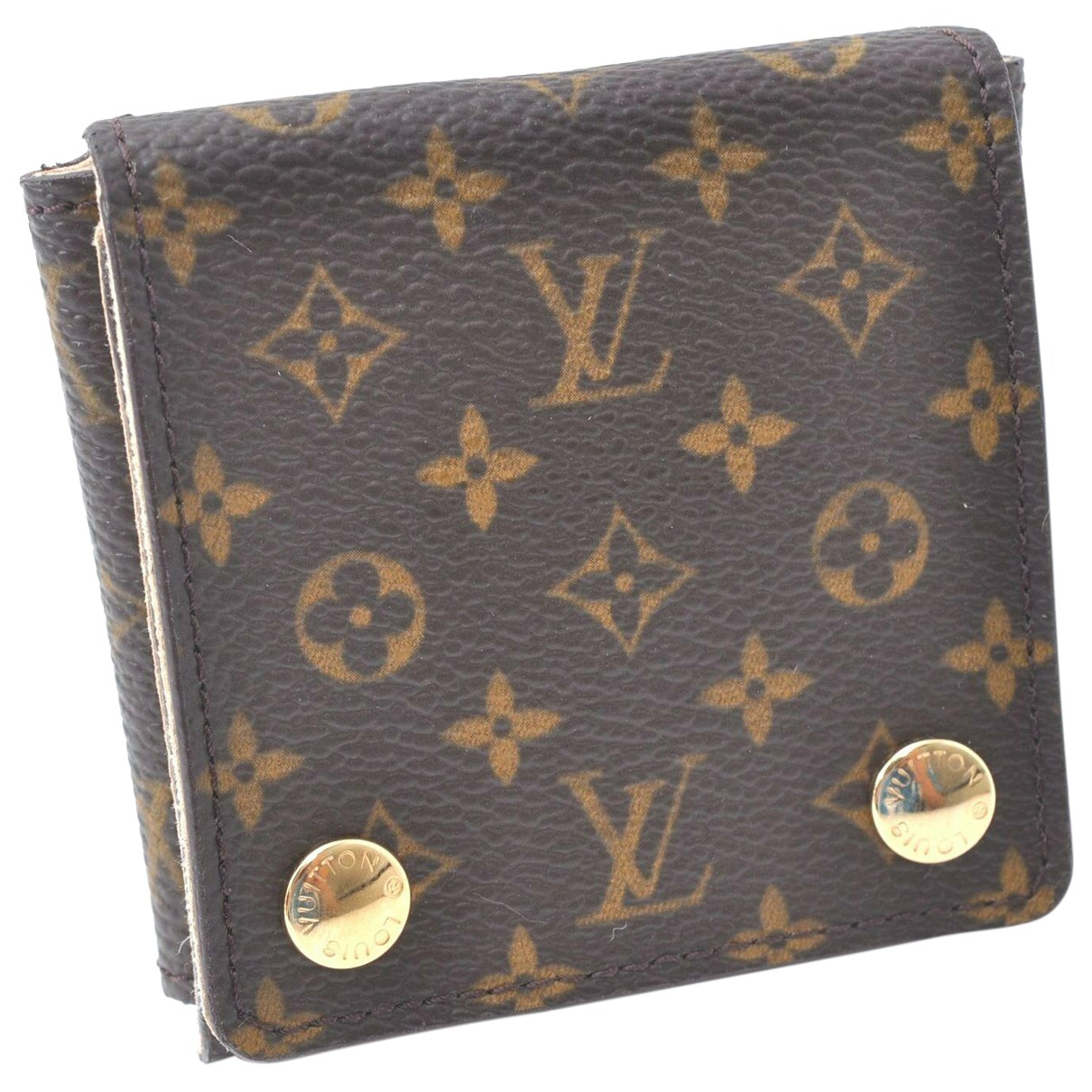 Louis Vuitton \N Anhaenger in  Braun Leinen
