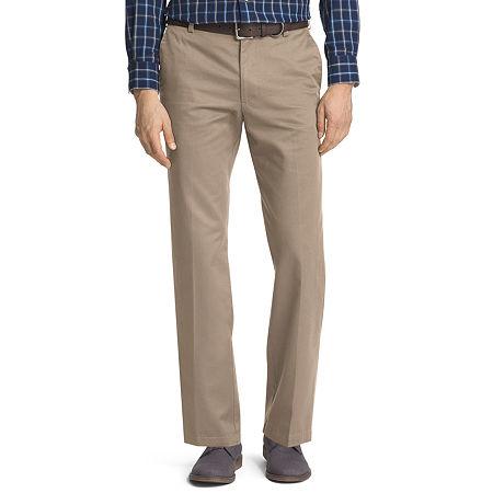 IZOD American Chino Mens Straight Fit, 34 29, Beige