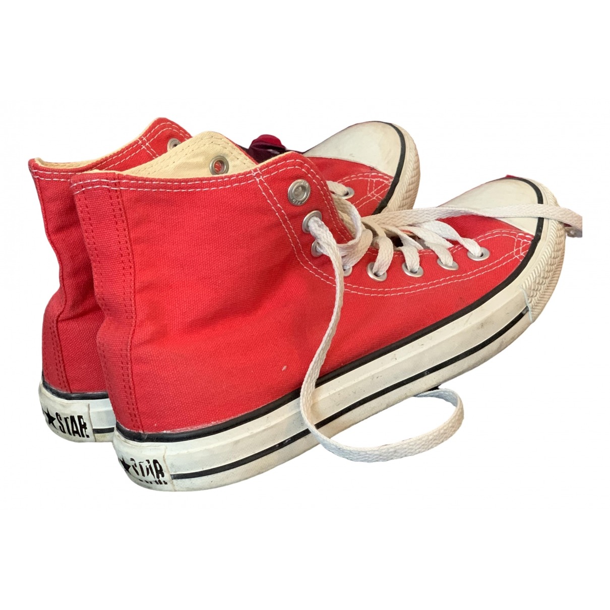 Converse \N Red Cloth Trainers for Women 41 EU