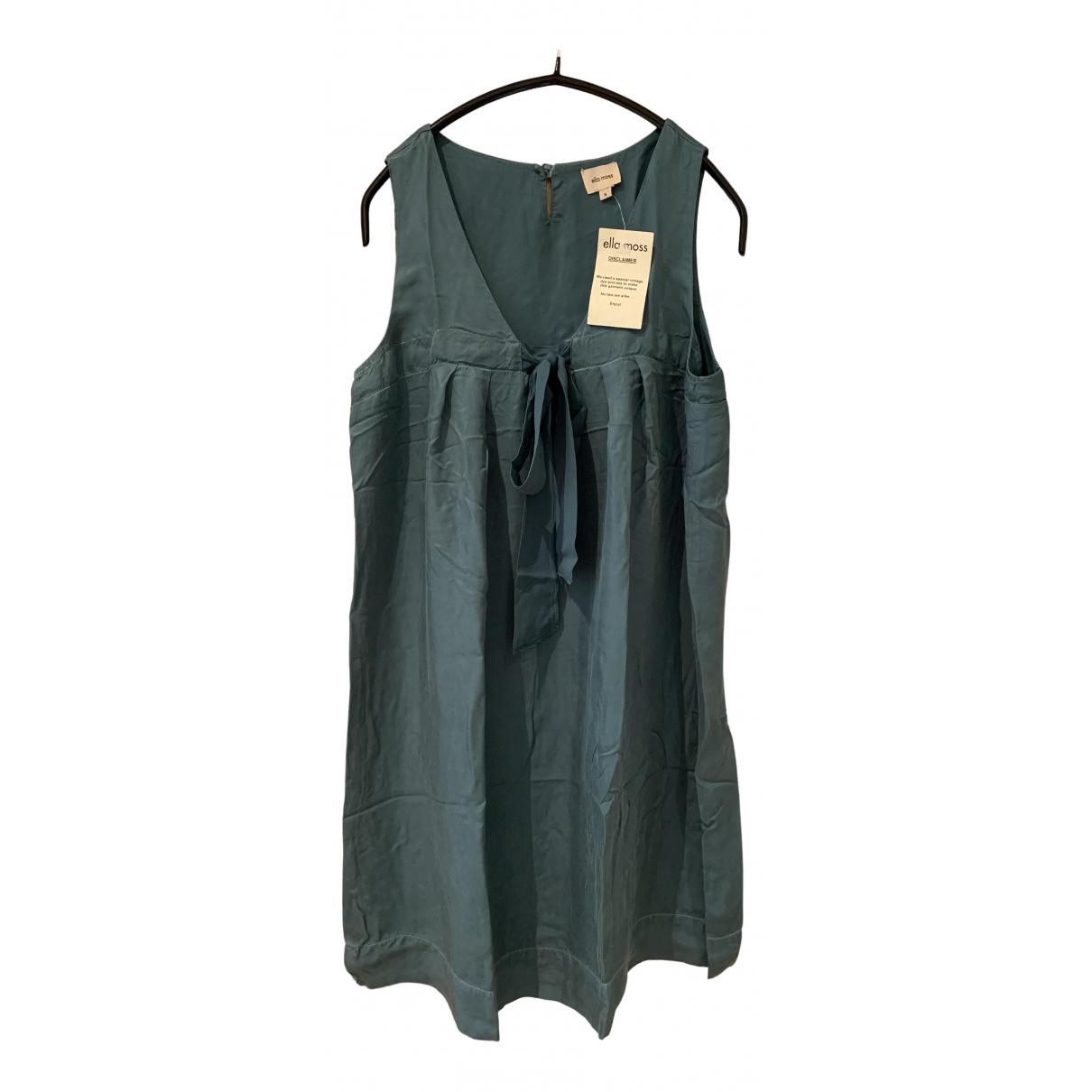Mini vestido de Seda Ella Moss