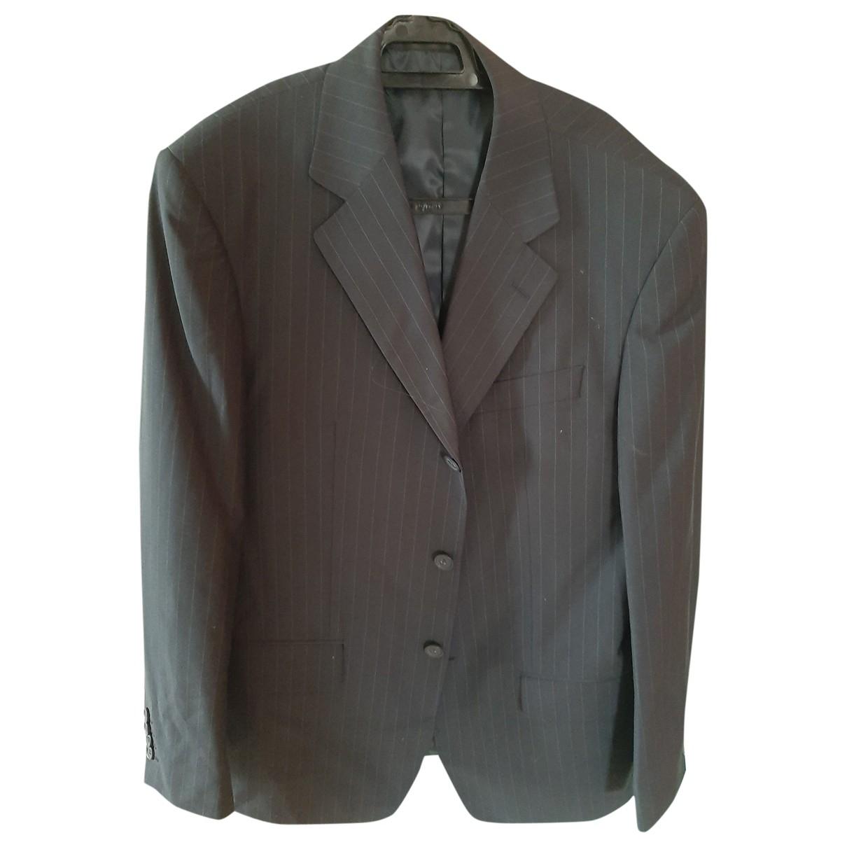 Non Signé / Unsigned \N Blue Suits for Men 48 IT