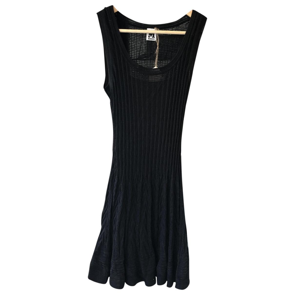M Missoni \N Black Cotton dress for Women 40 IT