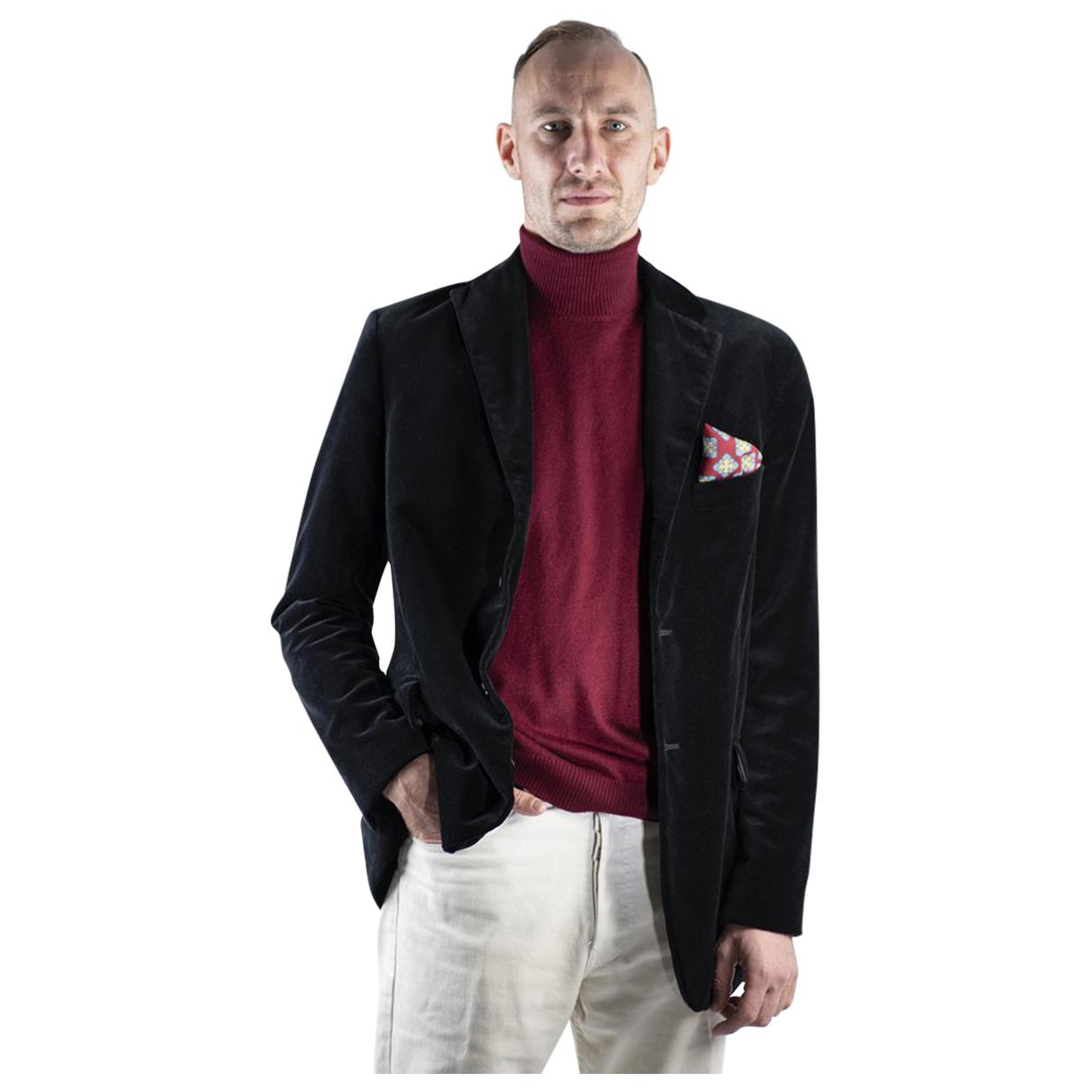 Autre Marque N Navy Velvet Suits for Men S International