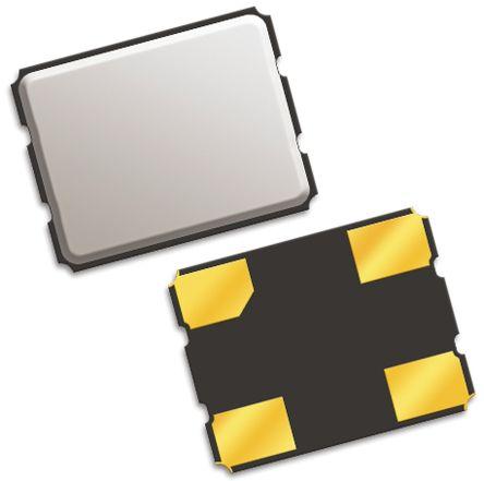 QT Quarztechnik , 25MHz Clock Oscillator, ±25ppm HCMOS, TTL, 4-Pin SMD QTX333A25.0000B15TR