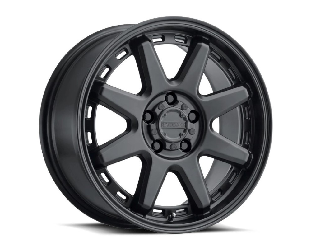 Raceline 947B Scout Wheel 20x10 8x170 -19mm Satin Black