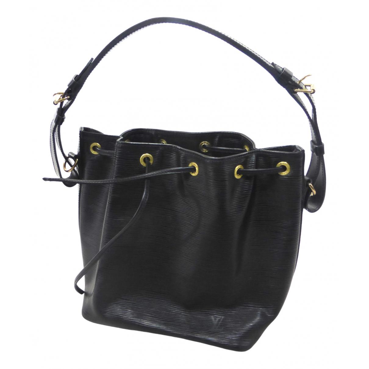 Louis Vuitton - Sac a main Noe pour femme en cuir - noir