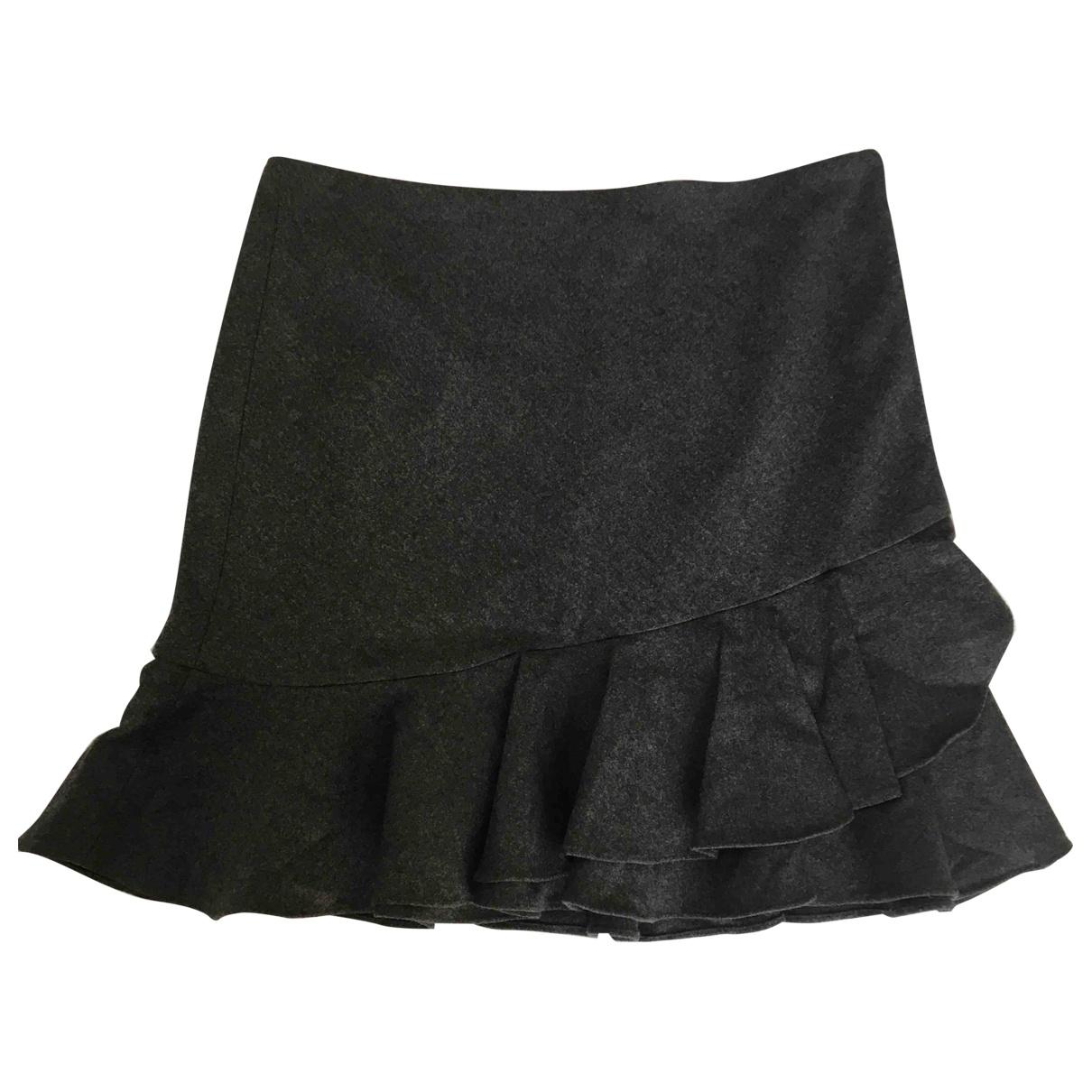 Rugby Ralph Lauren - Jupe   pour femme en laine - gris