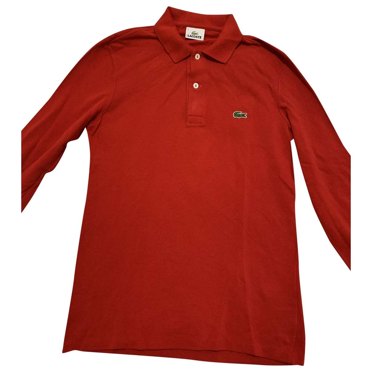 Lacoste \N Red Cotton Polo shirts for Men 2 0 - 6