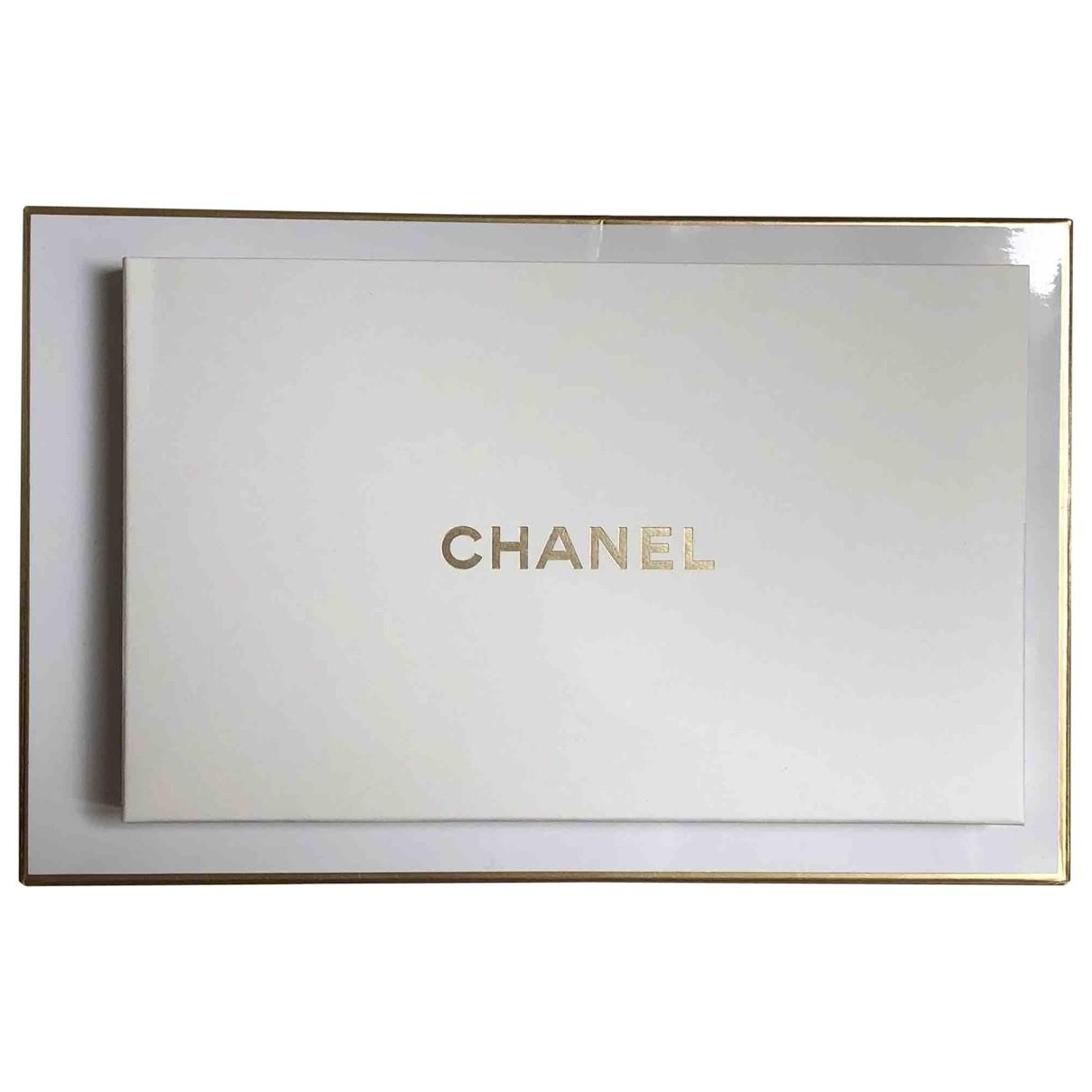 Chanel \N Accessoires und Dekoration in  Ecru Baumwolle