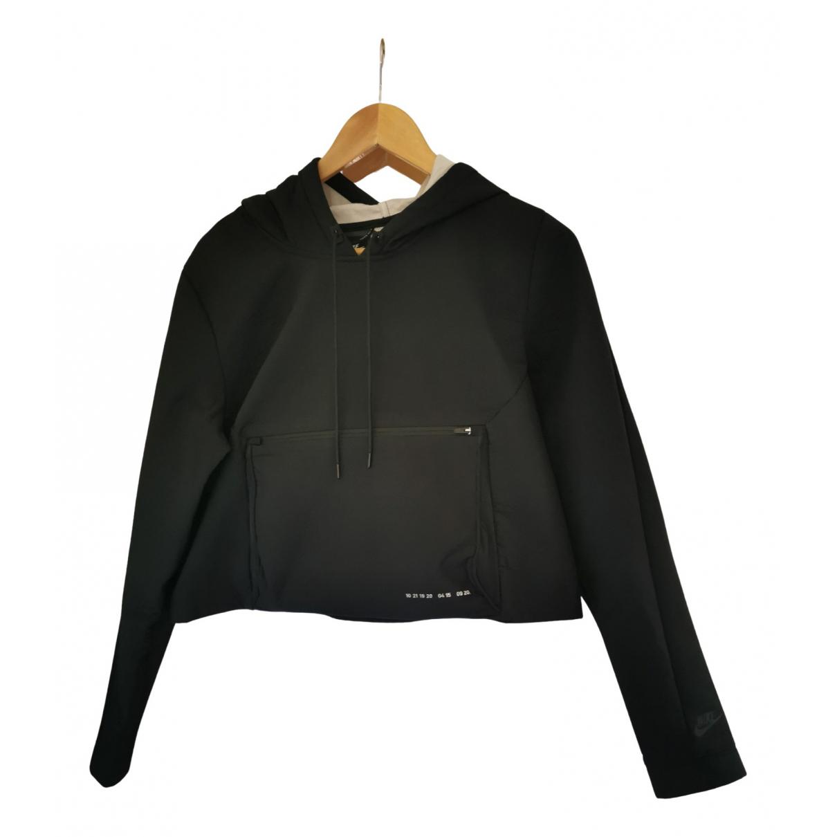 Nike \N Jacke in  Schwarz Polyester