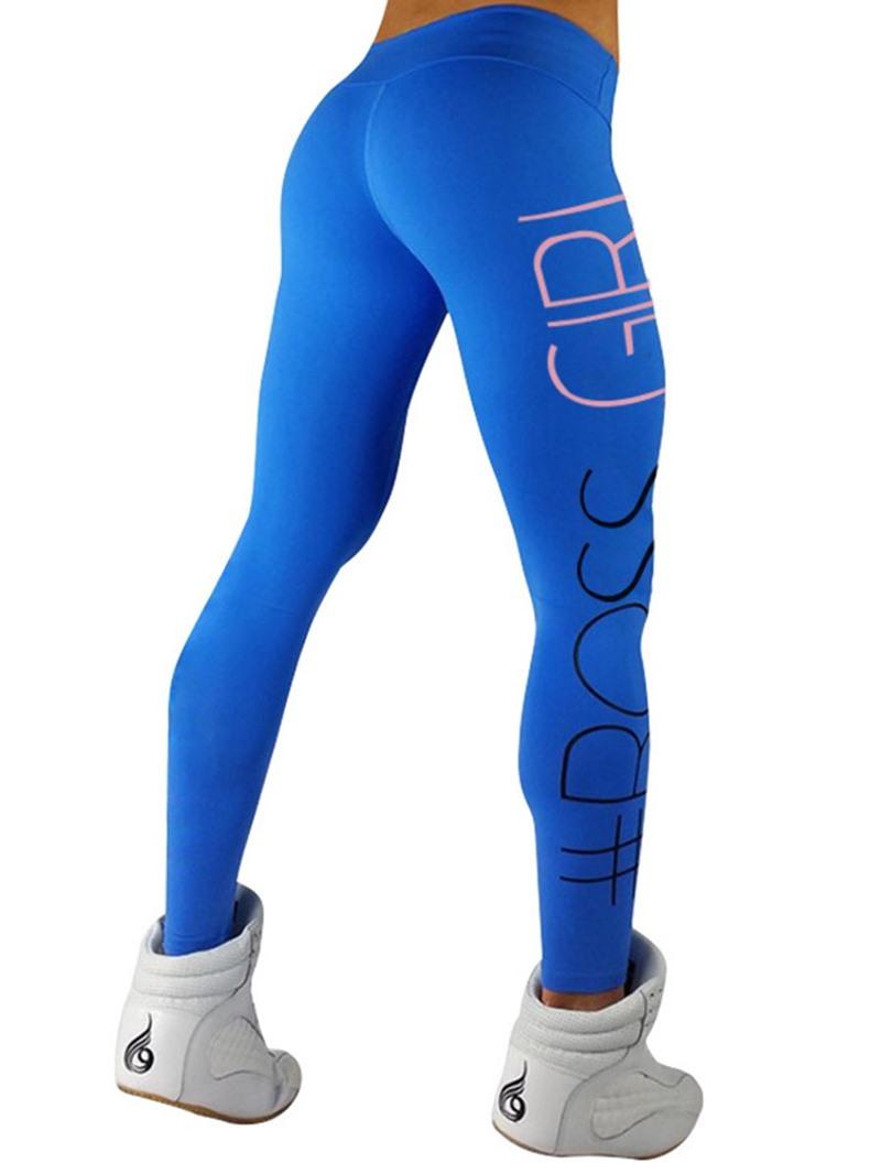 Ericdress Letter Sports YOGA Women's Leggings Pants