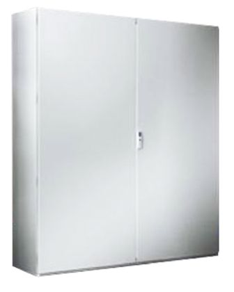 Rittal SE8 Sheet Steel, Double Door Floor Standing Enclosure, 1800 x 1000 x 400mm, IP55, Grey