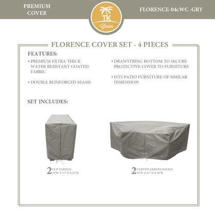 FLORENCE-04cWC-GRY Protective Cover Set  for FLORENCE-04c in