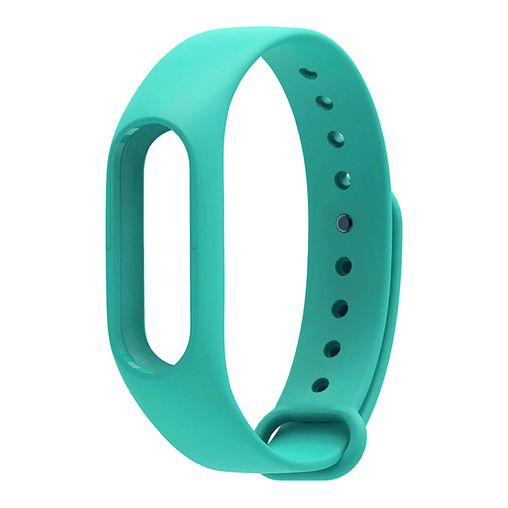 Xiaomi Mi Band 2 Replaceable Silicone Wrist Strap - Deep Green