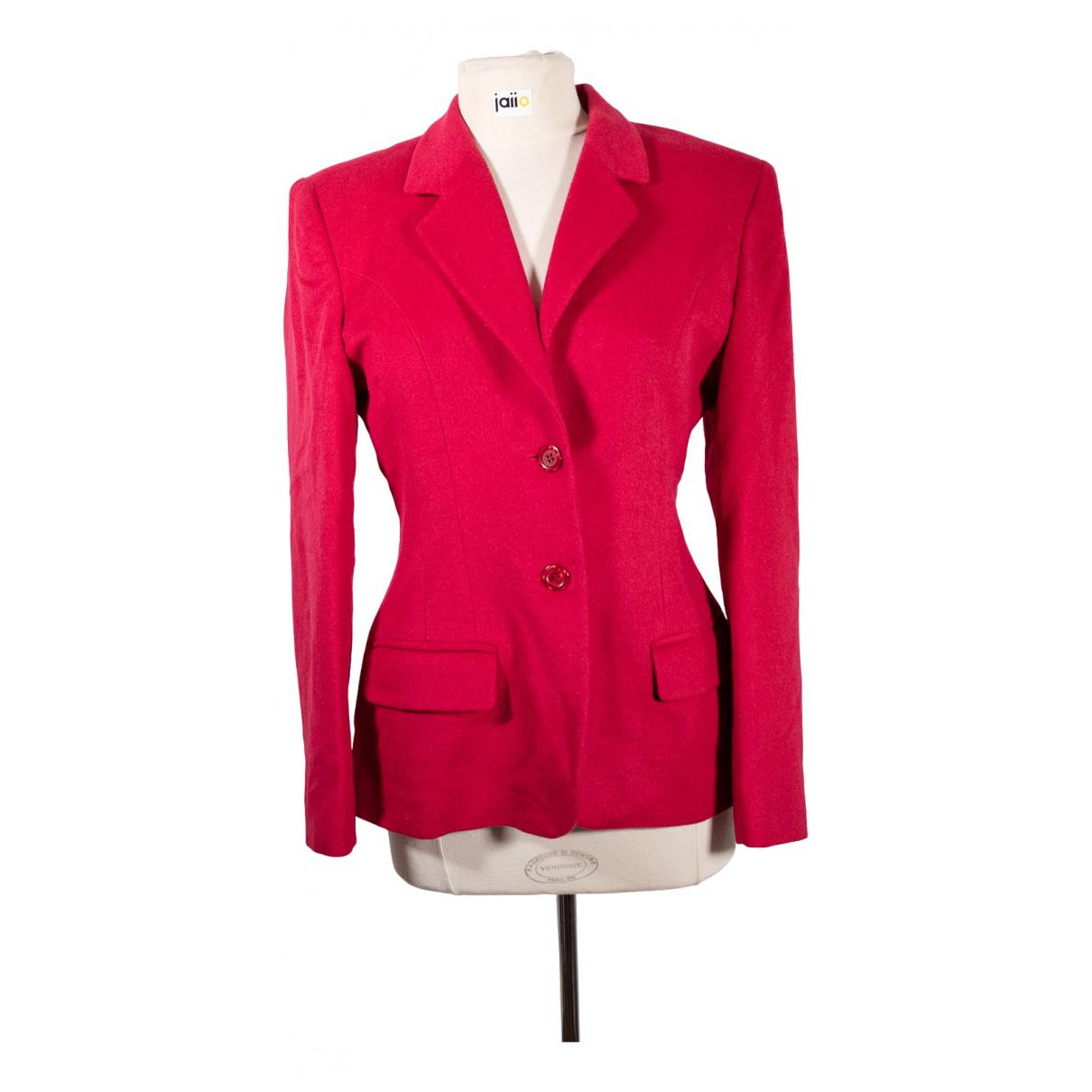 Irene Van Ryb \N Jacke in  Rot Wolle