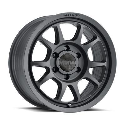 Method Race Wheels 313, 17x8.5 Wheel 6 on 120 Bolt Pattern - Matte Black - MR31378562500