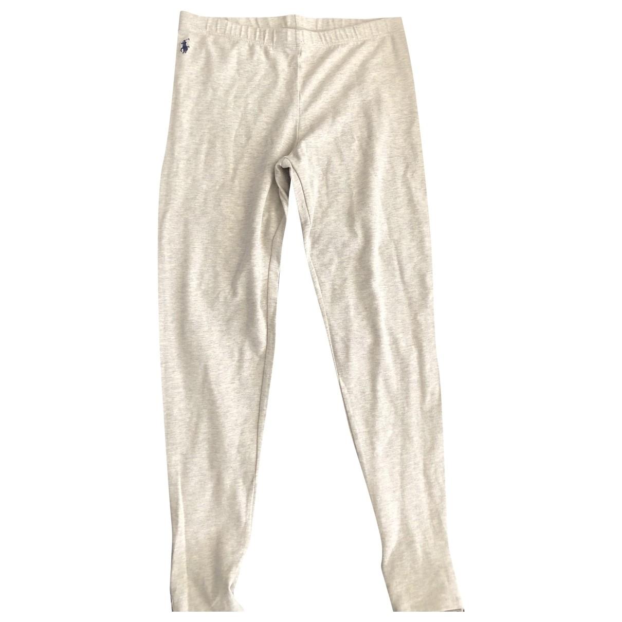 Ralph Lauren - Pantalon   pour enfant en coton - gris