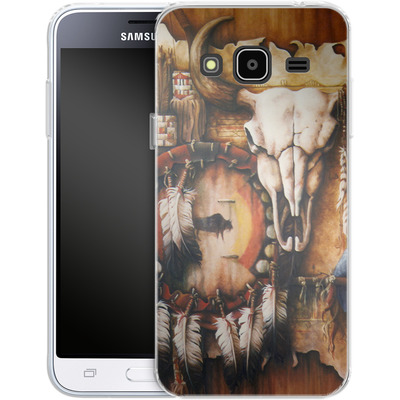 Samsung Galaxy J3 (2016) Silikon Handyhuelle - Teri Rosario - Echo of the Buffalo von TATE and CO