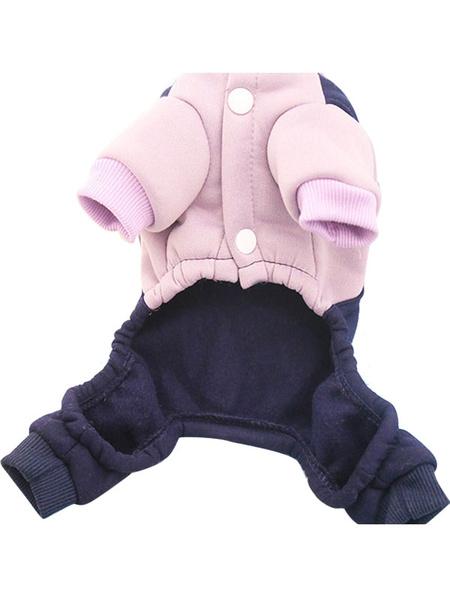 Milanoo Korean Velvet Pet Sweater Cartoon Print Pet Clothes