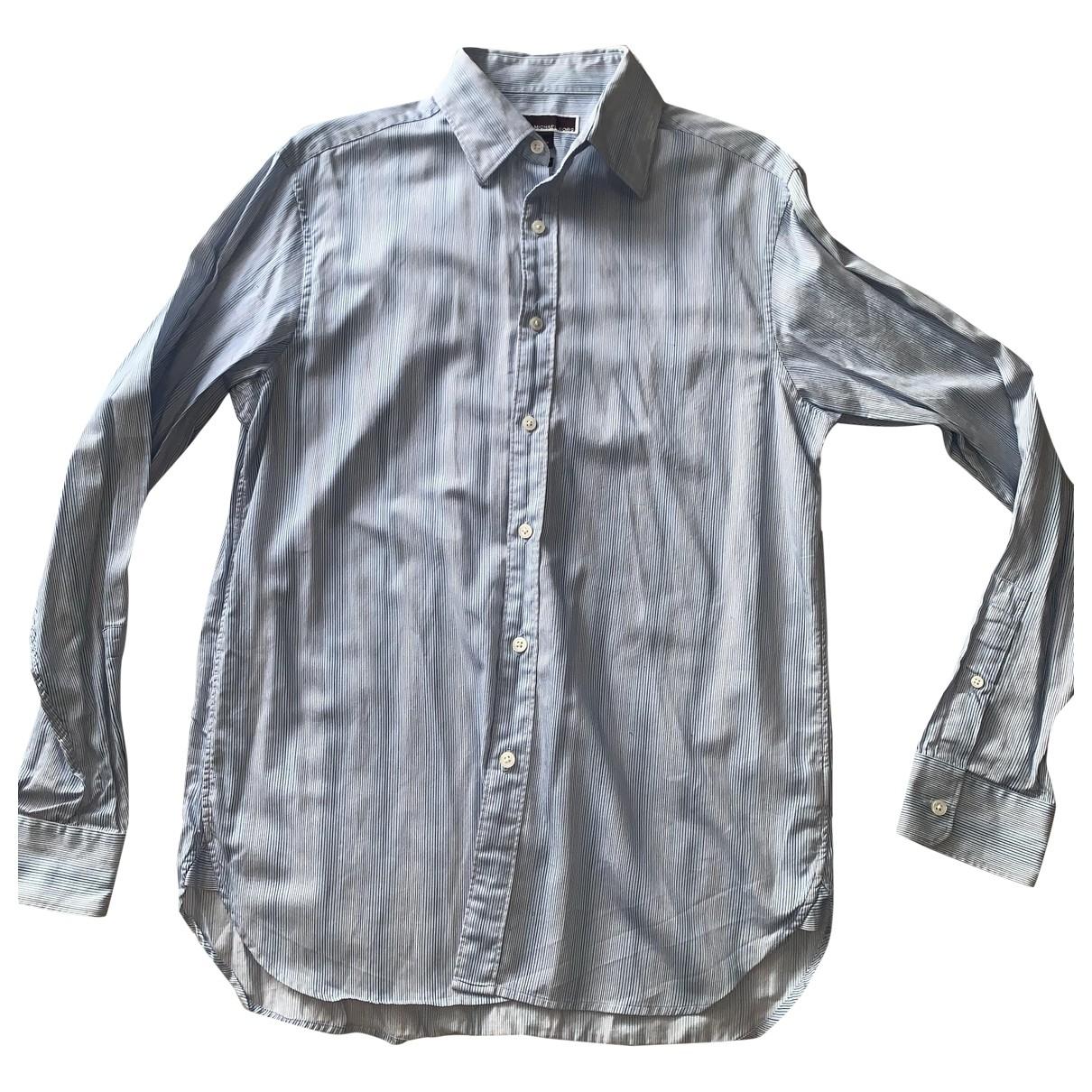 Michael Kors \N Hemden in  Blau Baumwolle