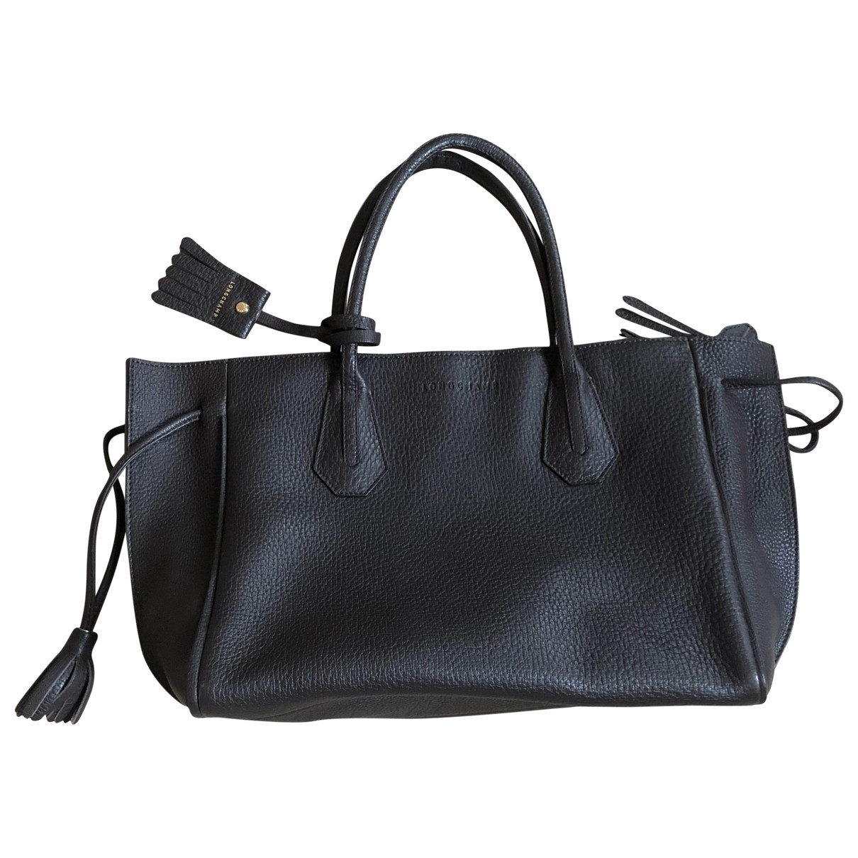 Longchamp \N Brown Leather handbag for Women \N