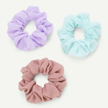 3pcs Simple Scrunchie