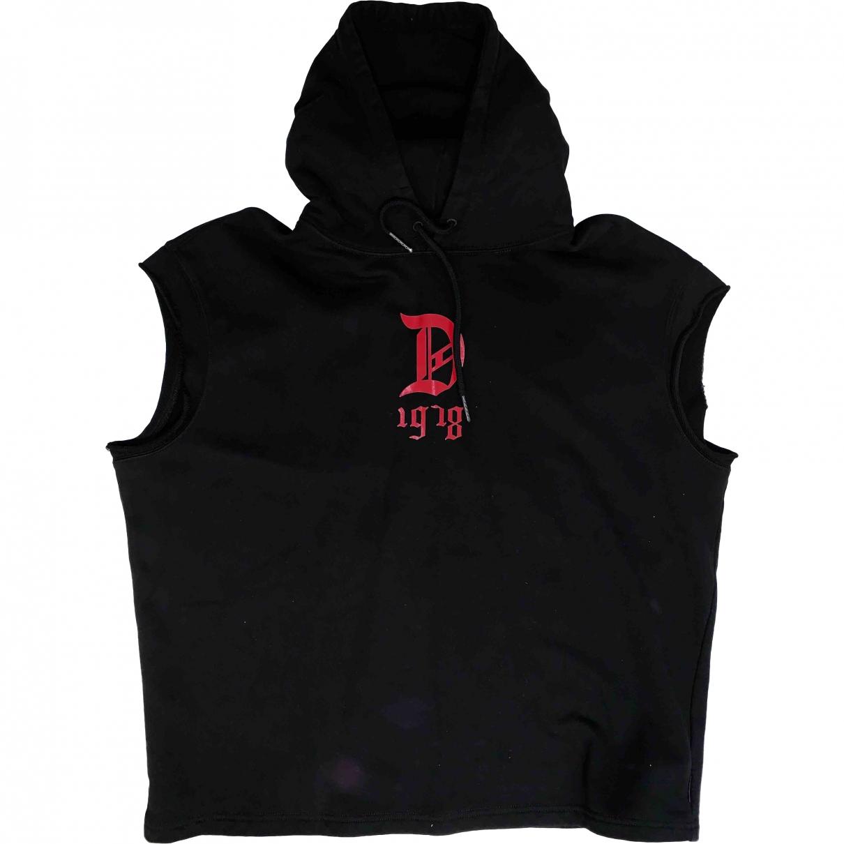 Diesel \N Pullover.Westen.Sweatshirts  in  Schwarz Baumwolle