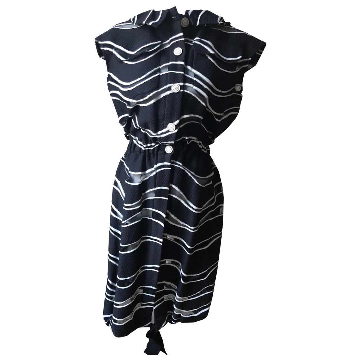 Chanel - Robe   pour femme en coton