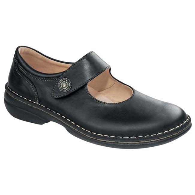 Finn Comfort Laval Black Leather 40
