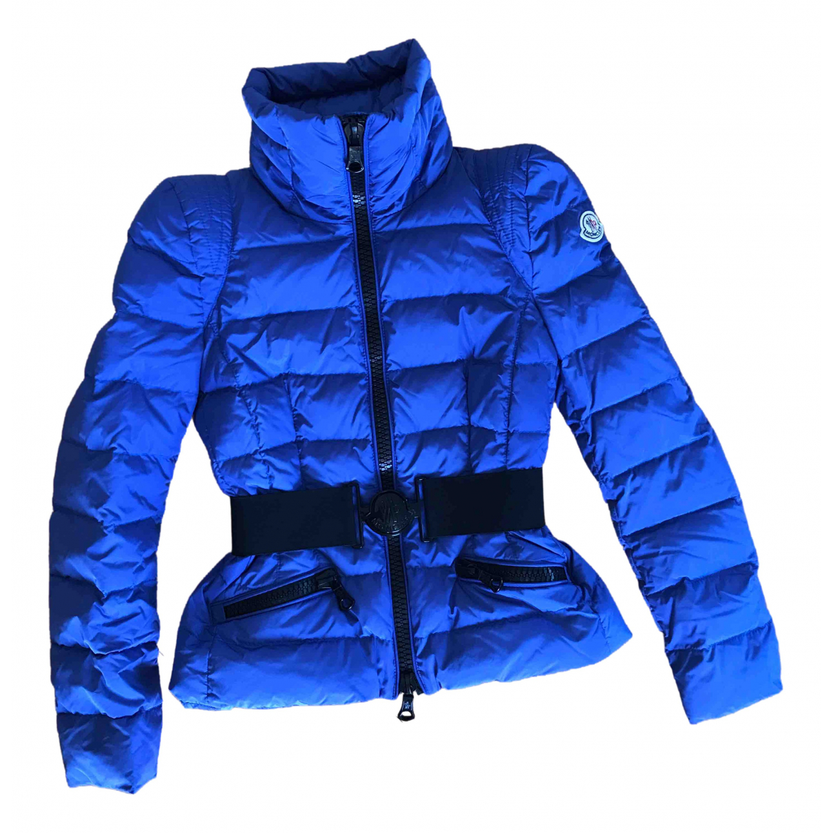 Moncler - Veste Classic pour femme - bleu