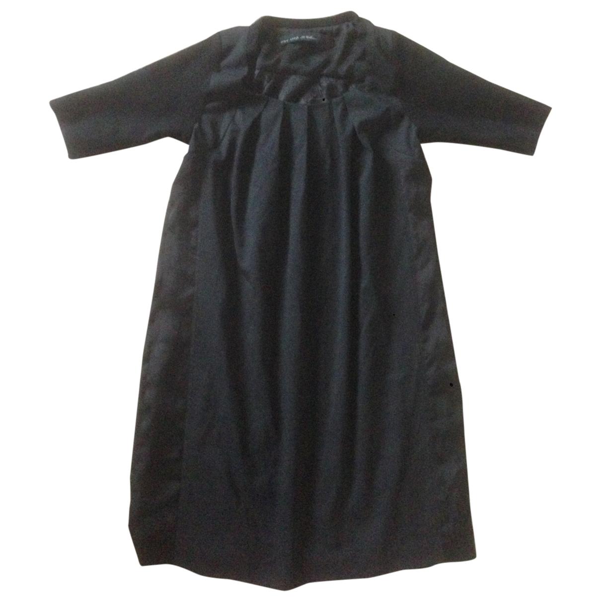 Ikks \N Kleid in  Schwarz Baumwolle