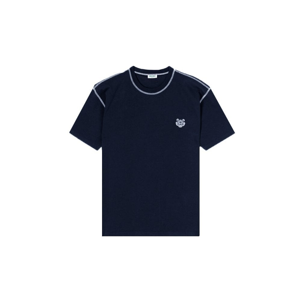 Kenzo Tiger T-shirt Colour: NAVY, Size: SMALL