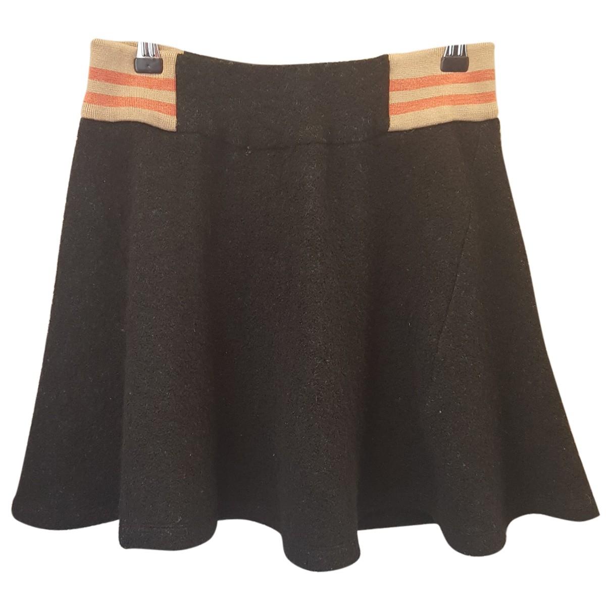 See By Chloe - Jupe   pour femme en laine - noir