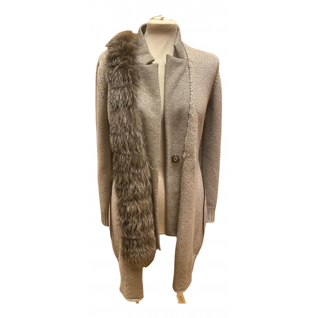 Fabiana Filippi \N Grey Wool Knitwear for Women 40 IT