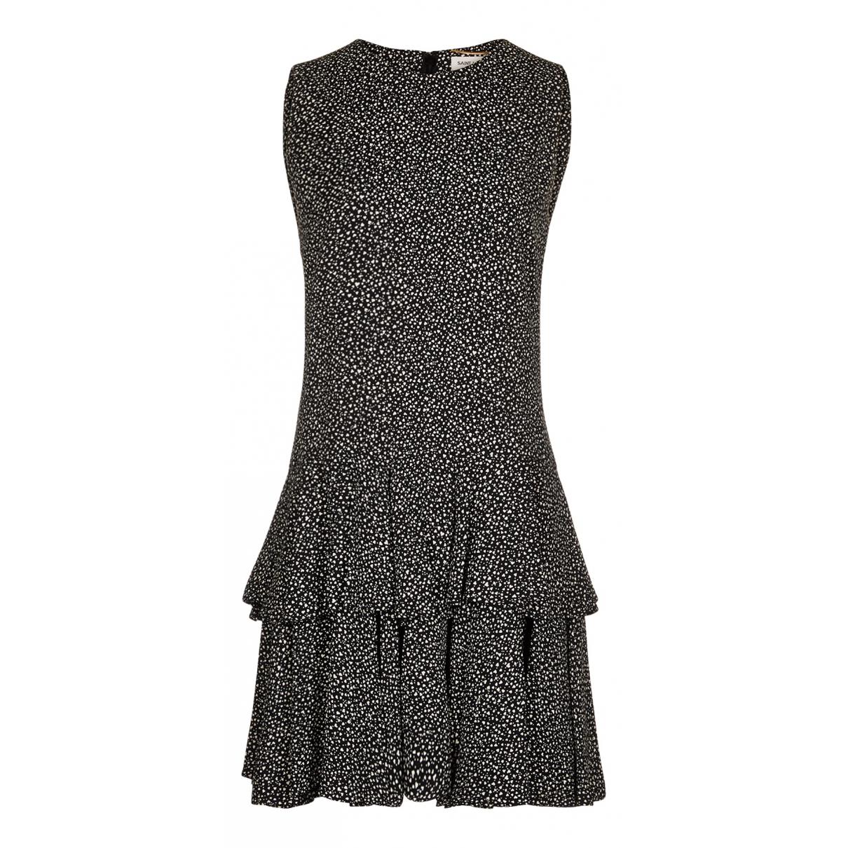 Saint Laurent N Multicolour Silk dress for Women 14 UK