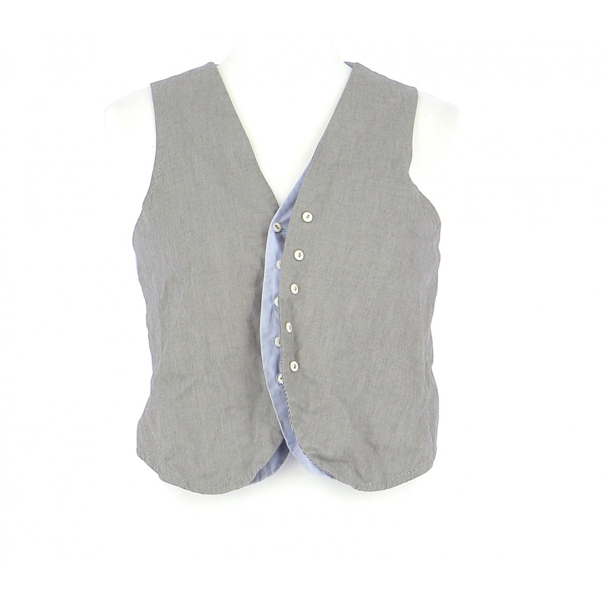 Sandro \N Pullover.Westen.Sweatshirts  in  Grau Baumwolle