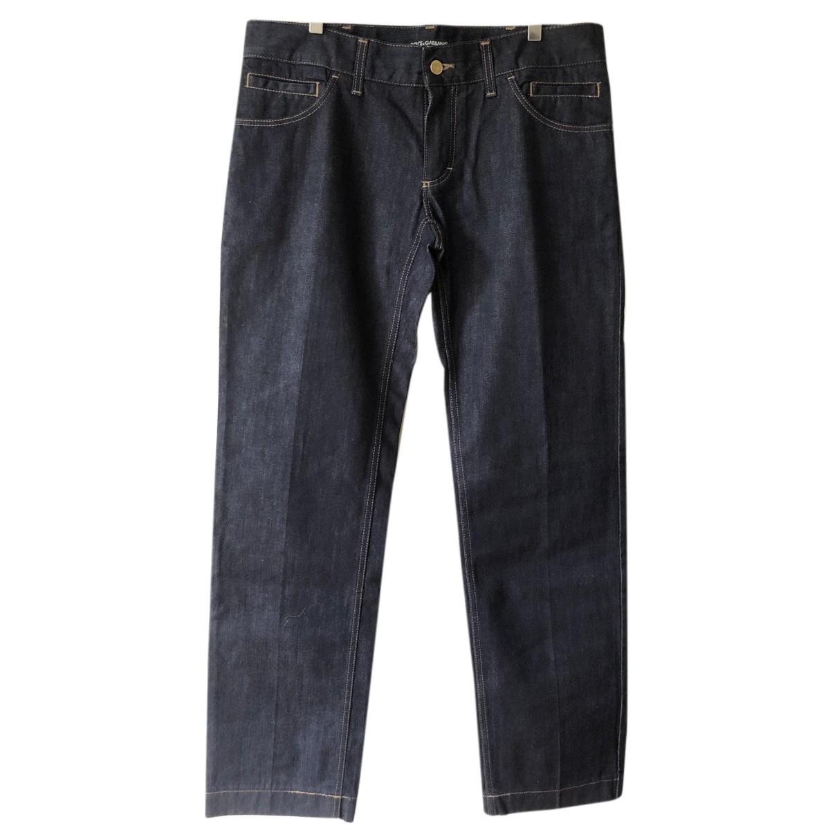 Dolce & Gabbana N Blue Cotton Jeans for Men 50 IT