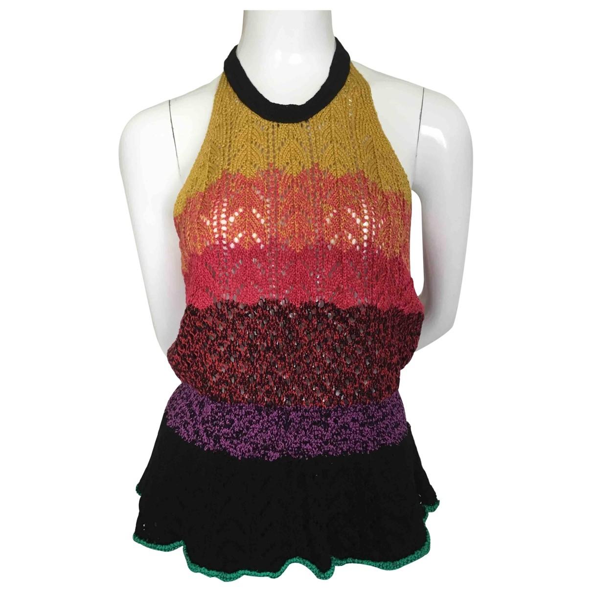 Vanessa Bruno - Top   pour femme en coton - multicolore