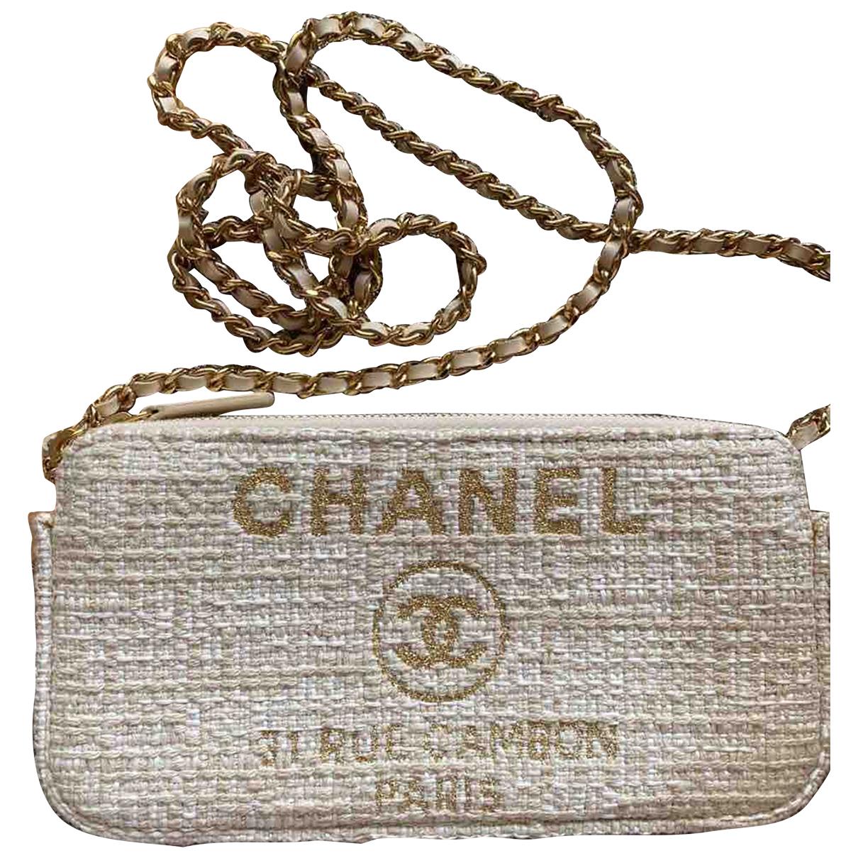 Pochette Wallet on Chain Tweed Chanel