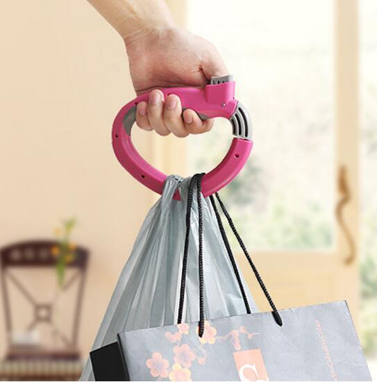Retractable Portable Hanging Handle Multi Functional Extract D-type Devices Shopping Carry Bag Carrier Holder