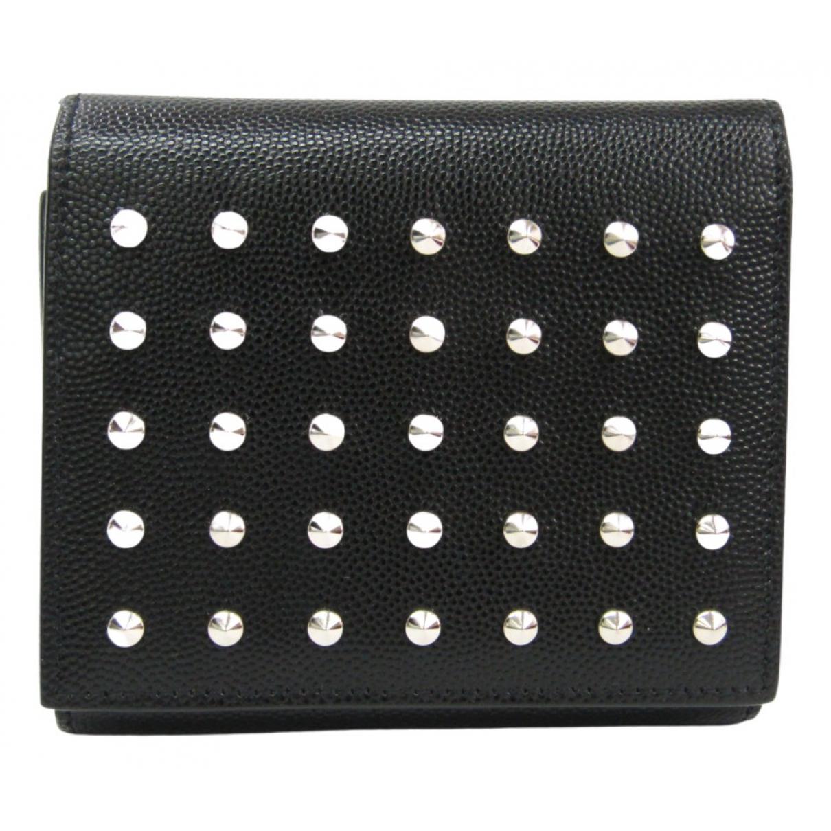 Saint Laurent N Black Leather wallet for Women N