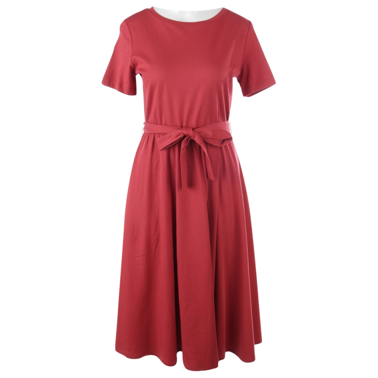 Max Mara \N Kleid in  Braun Baumwolle