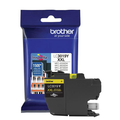 Brother LC3019Y Original Yellow Ink Cartridge Extra High Yield