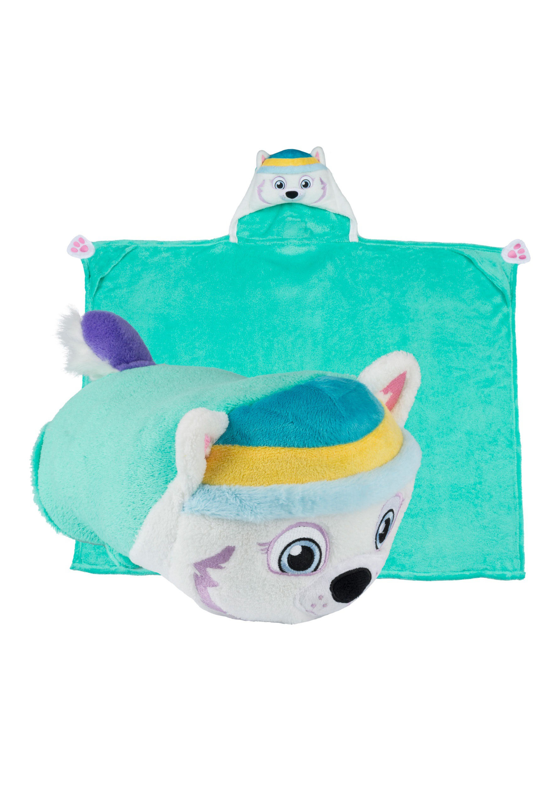 Paw Patrol Everest Comfy Critters Costume Blanket