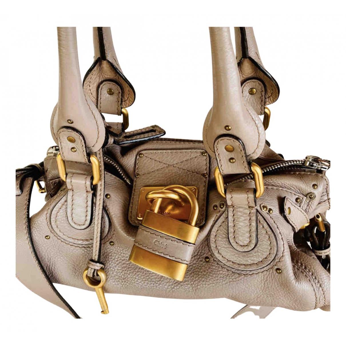 Chloé Paddington Leather handbag for Women N