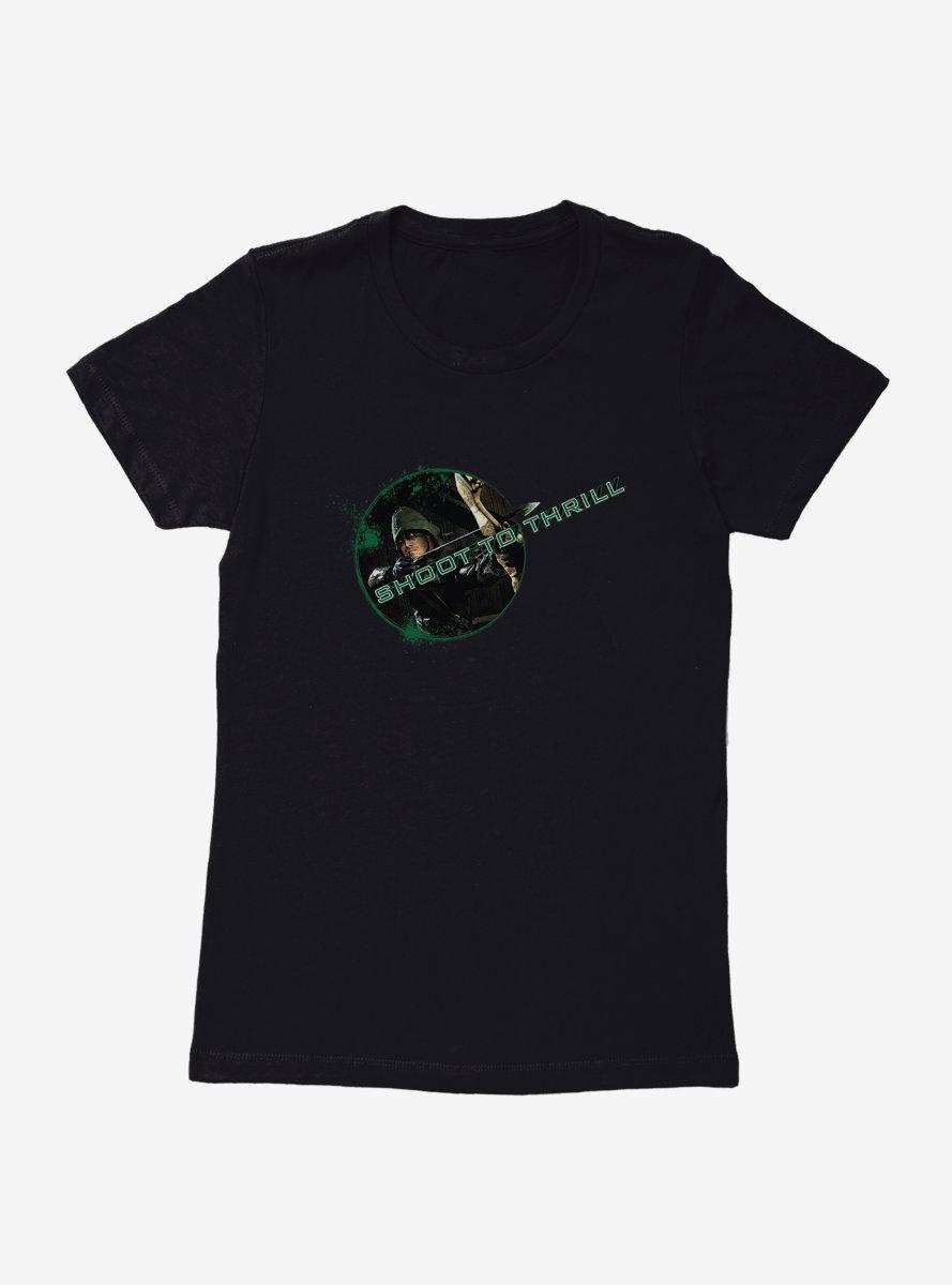 DC Comics Arrow Shoot To Thrill Womens T-Shirt