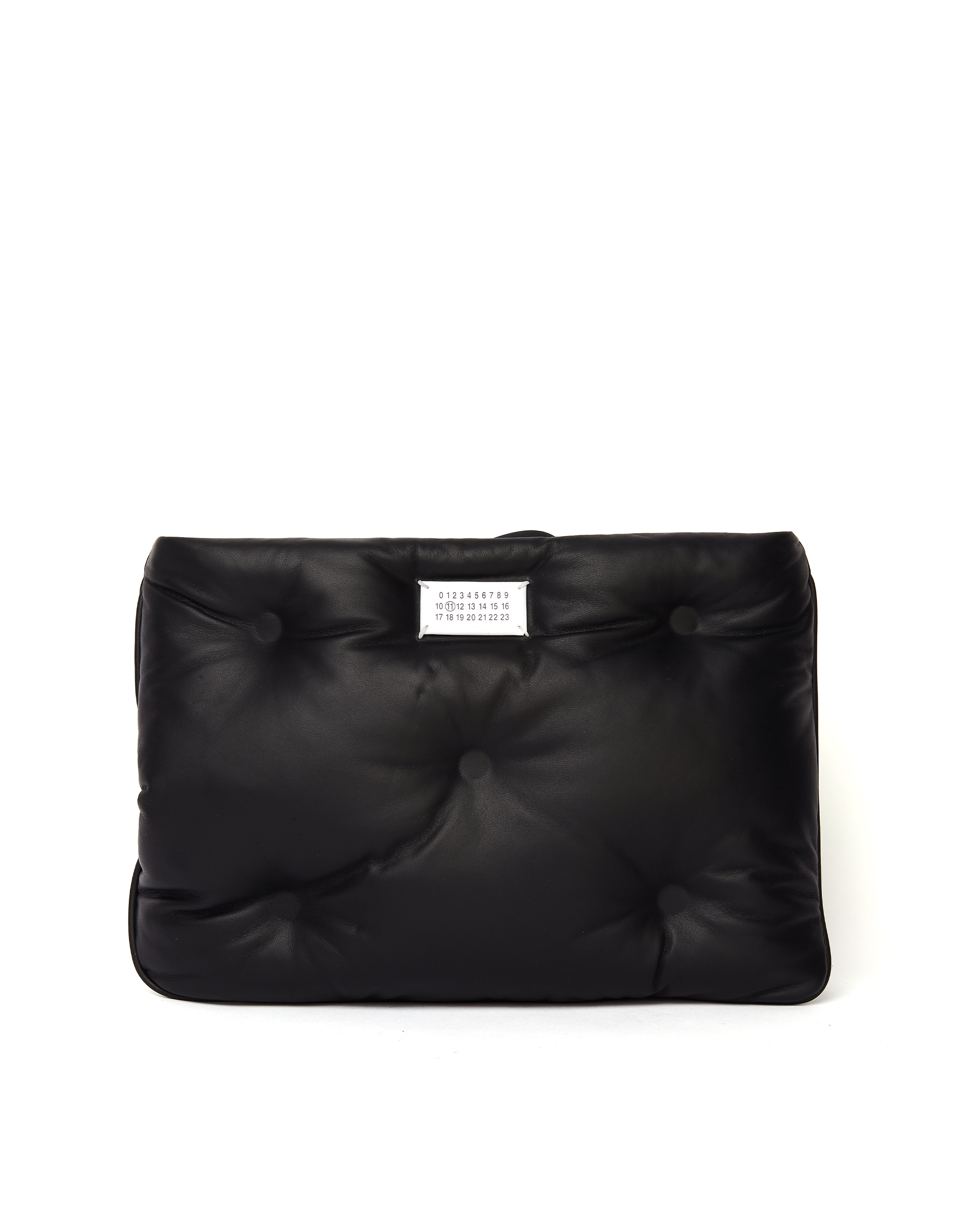 Maison Margiela Black Glam Slam Clutch Bag