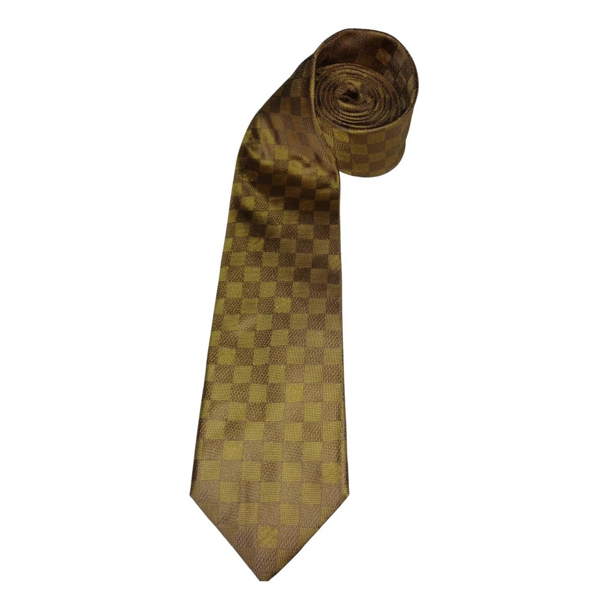 Louis Vuitton - Cravates   pour homme en soie - dore
