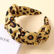 Haarreif mit Leopard Muster